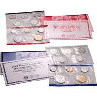 Uncirculated Coin Set 2002 (U02)