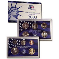 2003 United States Mint Proof Set (P03)