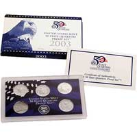 2003 United States Mint 50 State Quarters Proof Set (Q03)