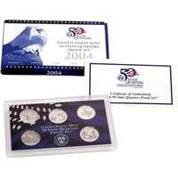 2004 United States Mint 50 State Quarters Proof Set (Q04)