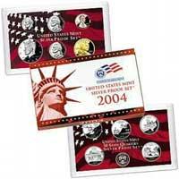 2004 United States Mint Silver Proof Set (V40)