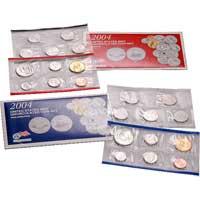 Uncirculated Coin Set 2004 (U04)