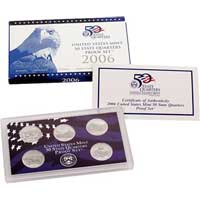 2006 United States Mint 50 State Quarters Proof Set (Q06)