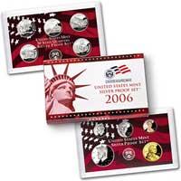 2006 United States Mint Silver Proof Set (V60)