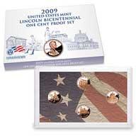 2009 Lincoln Bicentennial One Cent Proof Set (LN2)
