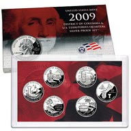 2009 District of Columbia & U.S. Territories Quarters Silver Proof Set (SV1)