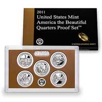 2011 America the Beautiful Quarters Proof Set (Q5B)