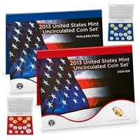 Uncirculated Coin Set 2013 (U13)