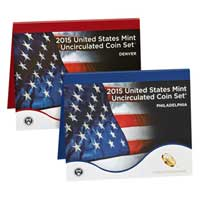 Uncirculated Coin Set 2015 (U15)