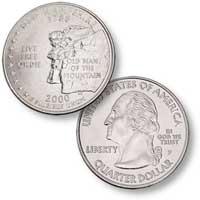 2000 New Hampshire Quarter