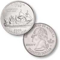 2000 Virginia Quarter