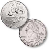 2002 Indiana Quarter