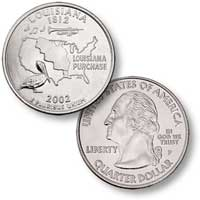 2002 Louisiana Quarter