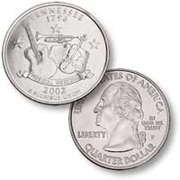 2002 Tennessee Quarter