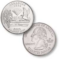 2003 Arkansas Quarter