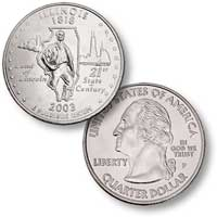 2003 Illinois Quarter