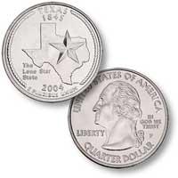 2004 Texas Quarter