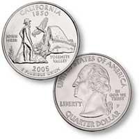 2005 California Quarter