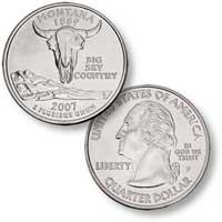 2007 Montana Quarter