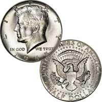 Kennedy Half Dollar 1965