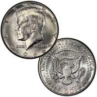 Kennedy Half Dollar 1966