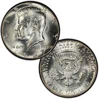 Kennedy Half Dollar 1967