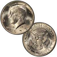 Kennedy Half Dollar 1973