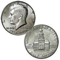 Kennedy Half Dollar 1976