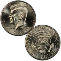 Kennedy Half Dollar 1993