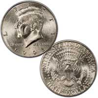 Kennedy Half Dollar 1995