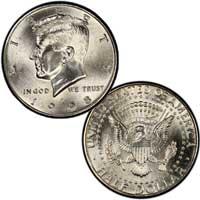 Kennedy Half Dollar 1998