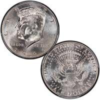 Kennedy Half Dollar 1999