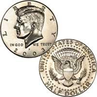 Kennedy Half Dollar 2003