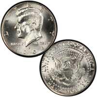 Kennedy Half Dollar 2004