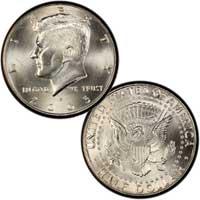 Kennedy Half Dollar 2005