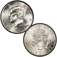 Kennedy Half Dollar 2008