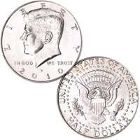 Kennedy Half Dollar 2010
