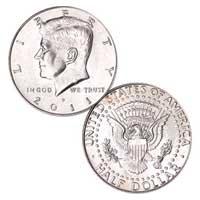 Kennedy Half Dollar 2011