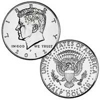 Kennedy Half Dollar 2012