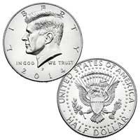 Kennedy Half Dollar 2014