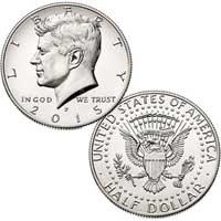 Kennedy Half Dollar 2015
