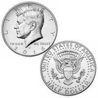 Kennedy Half Dollar 2016