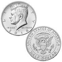 Kennedy Half Dollar 2018