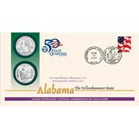 2003 - Alabama First Day Coin Cover (Q31)