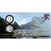 2009 - American Samoa Official First Day Coin Cover (WB4)