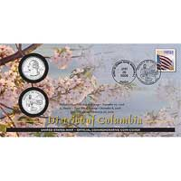 2009 - District of Columbia Official First Day Coin Cover (WB1)