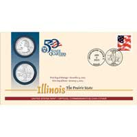 2003 - Illinois First Day Coin Cover (Q30)