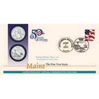 2003 - Maine First Day Coin Cover (Q32)
