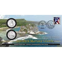 2009 - Northern Mariana Islands Official First Day Coin Cover (WB6)