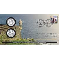 2009 - Puerto Rico Official First Day Coin Cover (WB2)